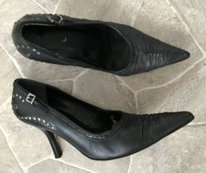 Aldo High Heels black-bronze-colored leather