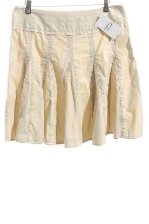 39 Comfortfüße Faltenrock hellbeige Casual-Look