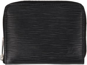 39107 Louis Vuitton Zippy Coin Geldbörse aus Epi Leder in Noir