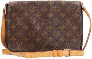 39132 Louis Vuitton Musette Tango Bandouliere Longue Monogram Canvas Tasche, Handtasche, Schultertasche