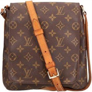 39214 Louis Vuitton Musette Salsa Monogram Canvas Tasche, Handtasche, Umhängetasche