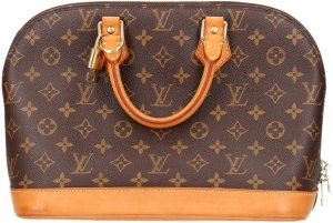 39253 Louis Vuitton Alma PM aus Monogram Canvas Tasche, Handtasche
