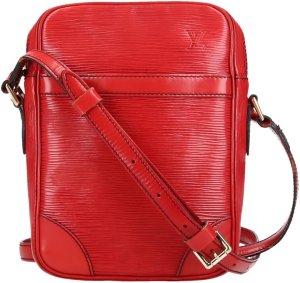 39302 Louis Vuitton Danube aus Epi Leder in Castillian Rot Tasche, Handtasche, Umhängetasche