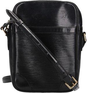 39321 Louis Vuitton Danube aus Epi Leder in Kouril Schwarz Tasche, Handtasche, Umhängetasche