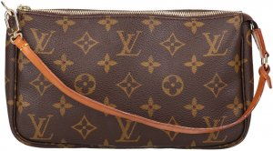 39337 Louis Vuitton Pochette Accessoires Monogram Canvas Tasche, Clutch