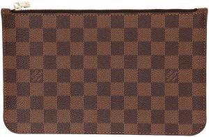 39364 Louis Vuitton Clutch aus Damier Ebene Canvas Tasche