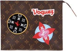 39378 Louis Vuitton Poche Toilette 26 Clutch, Handtasche aus Monogram Canvas
