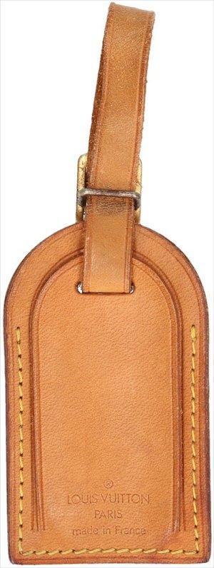 Louis Vuitton Porte-clés brun-doré cuir