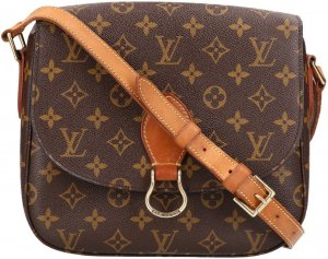 39443 Louis Vuitton Saint Cloud GM Monogram Canvas Tasche, Handtasche, Umhängetasche
