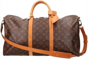 39495 Louis Vuitton Keepall 50 Monogram Canvas mit Schulterriemen Reisetasche, Gepäckstücke, Weekender