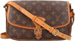 39501 Louis Vuitton Sologne Monogram Canvas Tasche, Handtasche, Umhängetasche