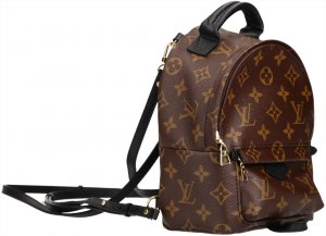 39504 Louis Vuitton Palm Springs Backpack Mini Rucksack aus Monogram Canvas mit Box