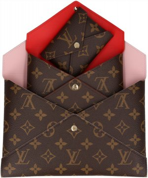 39576 Louis Vuitton Pochette Kirigami Clutch aus Monogram Canvas