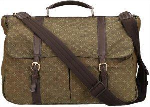 39583 Louis Vuitton Denise Monogram Mini Canvas Tasche Handtasche Umhängetasche Kaki