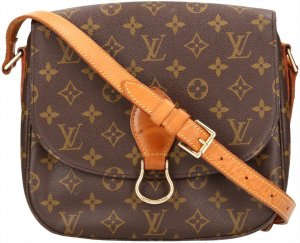 39594 Louis Vuitton Saint Cloud GM Monogram Canvas Tasche, Handtasche, Umhängetasche