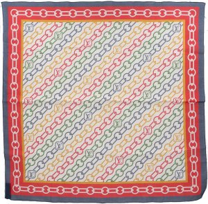 Louis Vuitton Neckerchief multicolored cotton