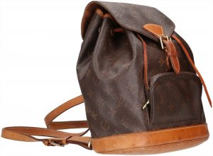 39626 Louis Vuitton Monstouris MM Monogram Canvas Rucksack, Tasche, Handtasche