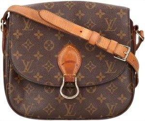39629 Louis Vuitton Saint Cloud GM Monogram Canvas Tasche, Handtasche, Umhängetasche