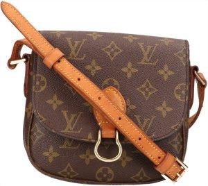 39637 Louis Vuitton Saint Cloud PM Monogram Canvas Tasche, Handtasche, Umhängetasche