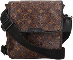 39660 Louis Vuitton Bass PM Monogram Macassar Canvas Tasche, Handtasche, Umhängetasche