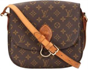 39663 Louis Vuitton Saint Cloud GM Monogram Canvas Tasche, Handtasche, Umhängetasche