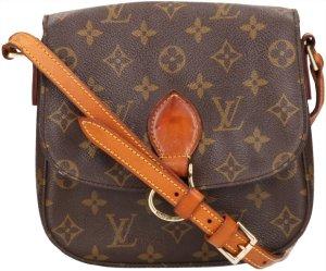 39665 Louis Vuitton Saint Cloud MM Monogram Canvas Tasche, Handtasche, Umhängetasche