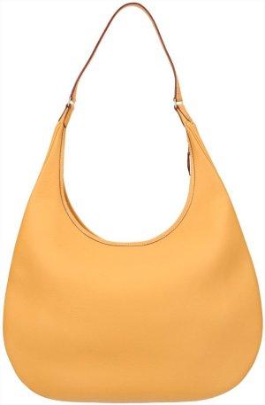 39672 Hermès Jaune Schultertasche, Handtasche, Tasche aus Leder in Jaune D'Or