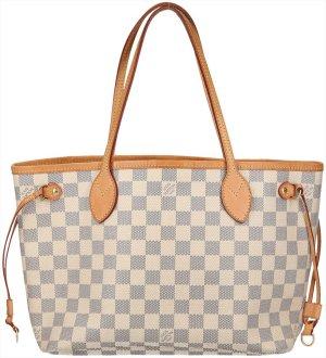 39697 Louis Vuitton Neverfull PM Damier Azur Canvas Tasche, Handtasche