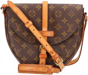 39725 Louis Vuitton Chantilly MM Monogram Canvas Handtasche, Umhängetasche