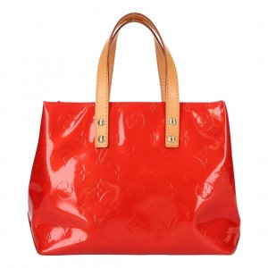 39762 Louis Vuitton Reade PM Monogram Vernis Leder in Rot Tasche, Handtasche