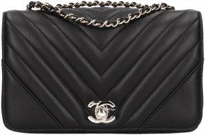 39775 Chanel CC Handtasche, Schultertasche aus Kalbsleder mit Box in Schwarz und Gold