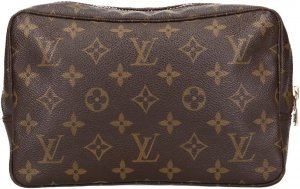 39778 Louis Vuitton Trousse Toilette 23 aus Monogram Canvas Kulturtasche, Clutch