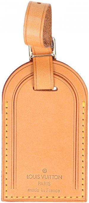 39784 Louis Vuitton Adressanhänger mit Initialen aus VVN Leder
