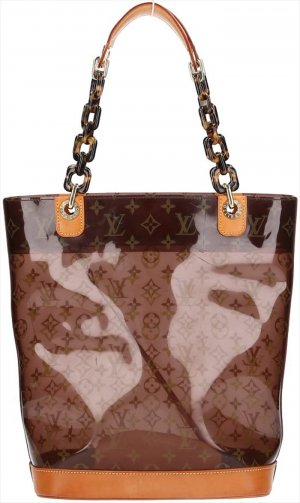 39792 Louis Vuitton Cabas MM Monogram Ambre Tasche, Handtasche