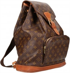 39835 Louis Vuitton Montsouris GM Monogram Canvas Rucksack, Handtasche