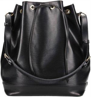 Louis Vuitton Bolso negro-color oro Cuero