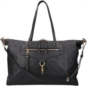 39851 Louis Vuitton Lumineuse GM Monogram Empreinte Leder Tasche, Handtasche mit Schulterriemen