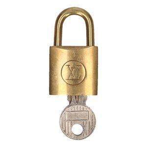 Louis Vuitton Sleutelhanger goud Metaal