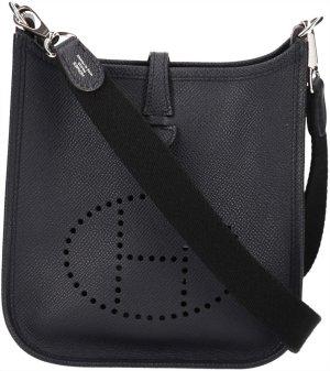 39881 Hermès Evelyne 16 TPM Amazone Veau Epsom in Bleu Nuit Tasche, Handtasche, Umhängetasche mit Box