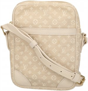 Louis Vuitton Crossbody bag oatmeal-gold-colored