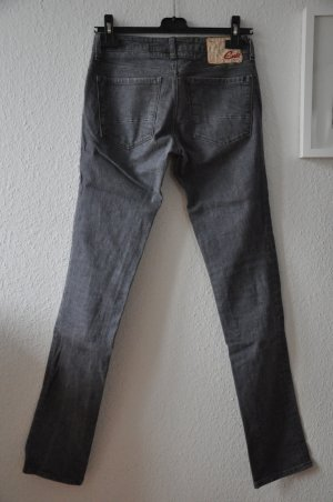 BLUE CULT Elite graue Skinny Jeans, Gr 26 (L:34)