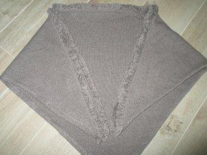 Schoudersjaal grijs-bruin-beige