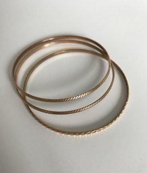 3er Pack Armbänder Gold
