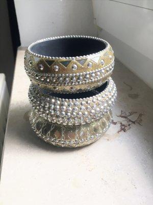 Bangle gold-colored-silver-colored