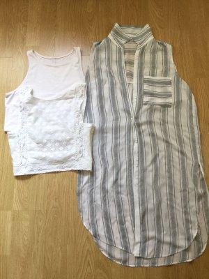 3er pack Tops Bluse ZARA H&M