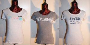 3er Set Abercrombie & Fitch Tshirt Größe M