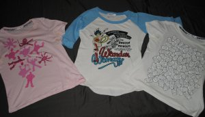 3er Set Comic T-Shirts