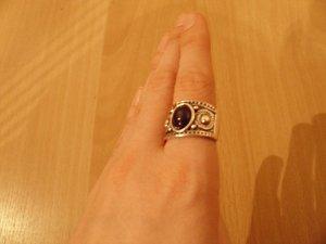 3er Set Ringe und 1 Zehenring
