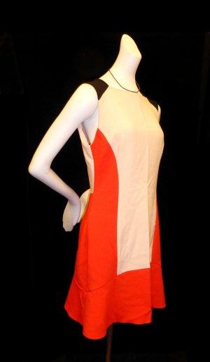 Zara Woman Abito linea A multicolore