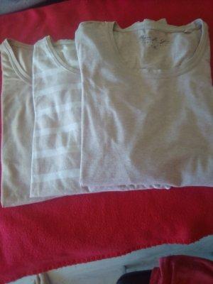Camiseta beige claro